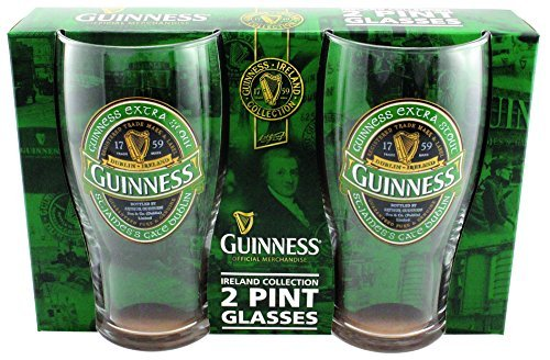Guinness Irland Kollektion 2Pint Glas Pack
