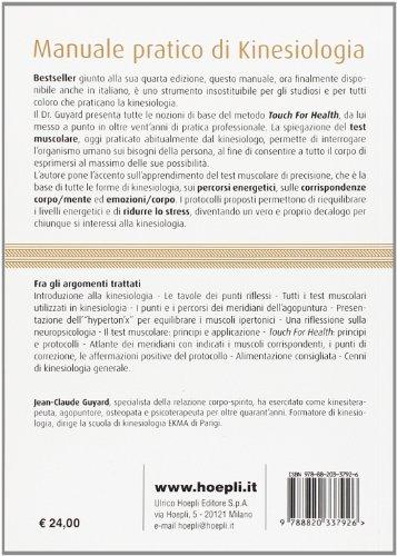 Zoom IMG-1 manuale pratico di kinesiologia il