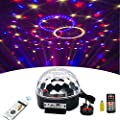 Wonsung stage lighting crystal magic ball led RGBW stage effect lighting with speaker remote controller digital light for KTV, karaoke , Christmas, Weddings, Clubs, lights effect bacground lighting