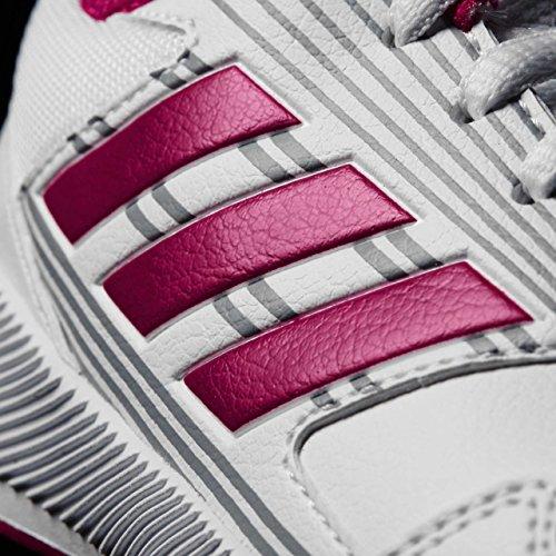 adidas Kinder-Unisex Altarun K Turnschuhe, Blanc/Rose Vif/Gris Mehrfarbig (Ftwr White/bold Pink/mid Grey S14)