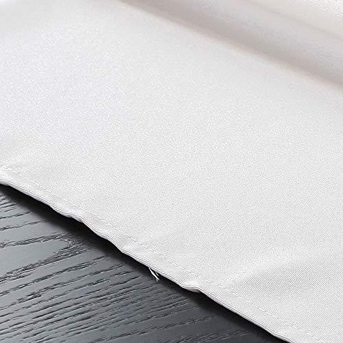 ZHJIUXING HO Wasserdichte Tischdecke, Längliche Rechteckige Einfarbige Tischdecke Polyester Stoff Home Dekoration Für Party Hochzeit, Mehrere Farben, D, 140x140cm -