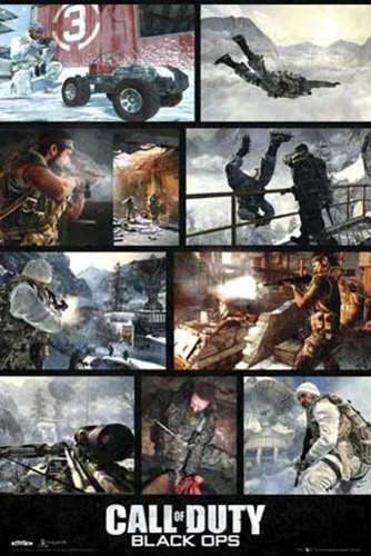 empireposter - Call Of Duty - Black Ops, Screenshots - Größe (cm), ca. 61x91,5 - Poster, NEU -