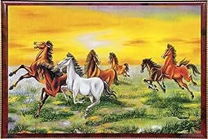 Pictoreal Seven Horse 3D Photo Frame