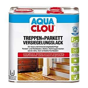 aqua clou l10 vitrificateur pour parquet 2 5 l bricolage. Black Bedroom Furniture Sets. Home Design Ideas