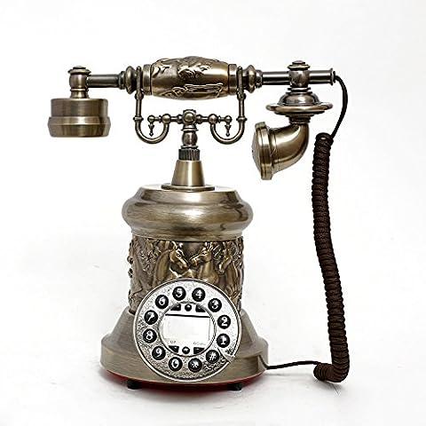 Dono di metallo di giada di resina può essere retroilluminazione vivavoce telefono antico stile telefono antichi