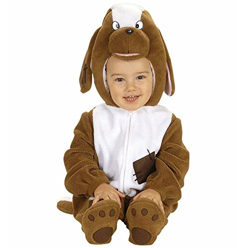 Widmann 2748d Kostüm Hund, braun, 1-2Jahre (Zwerg Kostüm Hund Mit)