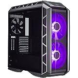Cooler Master MasterCase H500P Boîtiers PC 'E-ATX, ATX, mATX, mini-ITX, RGB LED, Panneau latéral en verre trempé' MCM-H500P-MGNN-S00