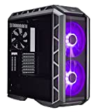 Cooler Master MasterCase H500P PC-Gehäuse 'E-ATX, ATX, micro-ATX, mini-ITX, RGB LED, Echtglas-Seitenteil' MCM-H500P-MGNN-S00