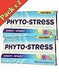 GOVital - PHYTO-STRESS 4 extraits de plantes - Aubépine Rhodiole Valériane Passiflore - Lot de 2 Boites de 28 Comprimés ( 2 )