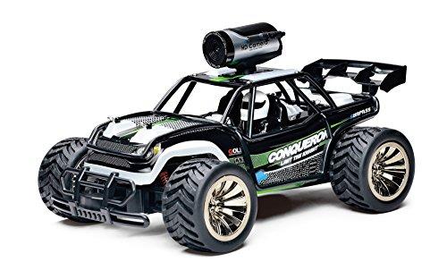 KOOWHEEL Ferngesteuertes Auto, RC Auto, 1:16 2.4Ghz Rennauto Ferngesteuert Geländewagen High Speed Monster Truck RC Buggy mit HD Kamera 720P Wifi Fernbedienung