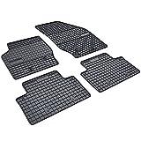 AME Auto-Gummimatten Fußmatten, Geruch-vermindert und passgenau mit Anti-Rutsch-Oberfläche 0944et