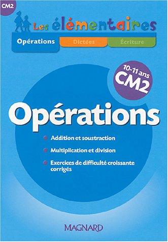 Opérations CM2
