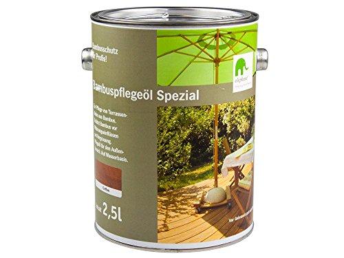 elephant Bambus-Pflegeöl 'Spezial', für CoBAM-Terrassendielen, coffee, 2,5 L