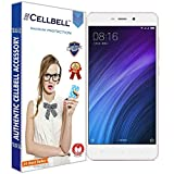 #1: CELLBELL® Tempered Glass Screen Protector For Xiaomi Redmi 4 / Redmi 4A With FREE Installation Kit