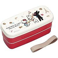 Preisvergleich für OSK Gaspard und Lisa 、 Hello Kitty Lunchbox Bento 640ml zweistufiger + Stäbchen GLK pw-28
