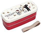 OSK Gaspard und Lisa 、 Hello Kitty Lunchbox Bento 640ml zweistufiger + Stäbchen GLK pw-28