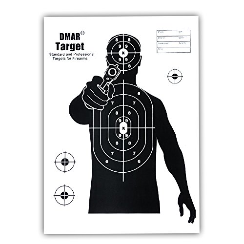 Zielscheibe Bogenschießen, DMAR Zielscheiben Set, 42 X 30 cm Bogenschießen Gun Ziele, 20pcs