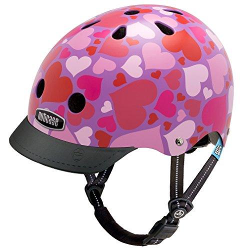 Nutcase - Little Nutty Straßen Fahrradhelm, Passt auf deinen Kopf, Passt zu Dir - Lotsa Love