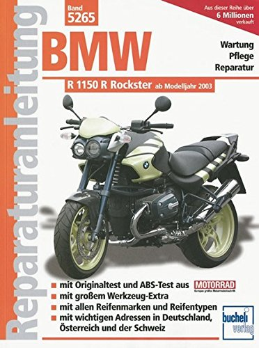 BMW R 1150 R Rockster  ab 2003 (Reparaturanleitungen)