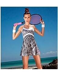 Vestido Pádel / Tenis Bidi Badu Luna Tech Gris 2016
