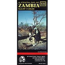 Carte routière : Zambie