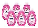bebe Zartpflege Glanzshampoo, zartes und pflegendes Shampoo,reinigt sanft,...