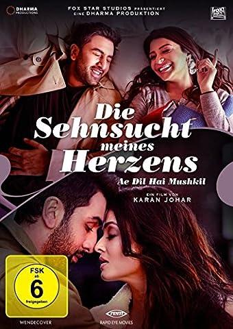 Die Sehnsucht meines Herzens - Ae Dil Hai Mushkil (Erstauflage mit Poster) (Bollywood Mit Shahrukh Khan)
