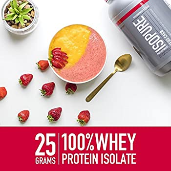 Isopure Zero Carb Protein Powder, Whey Protein Isolate, Flavor: Cookies & Cream, 1 Pound (Packaging May Vary) 3