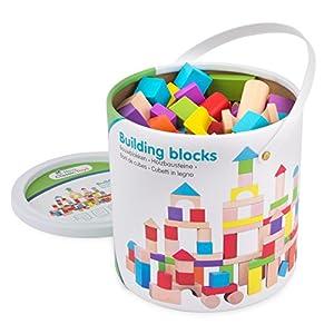 New Classic Toys - Juguete para apilar y encajar (812) , Modelos/colores Surtidos, 1 Unidad