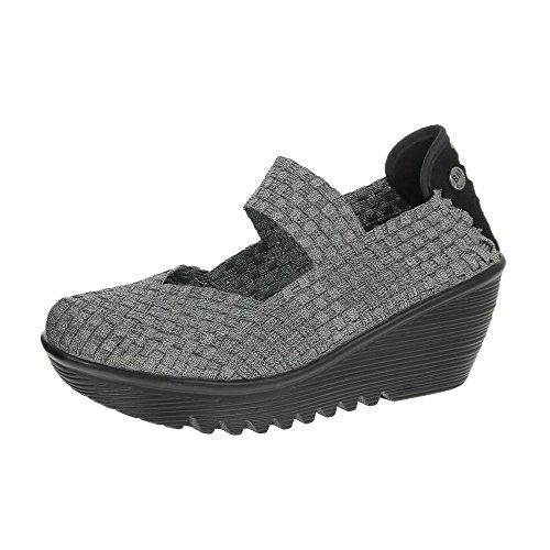 Bernie Mev Mujeres Lulia Estaño De Zapatos EU41 Pewter