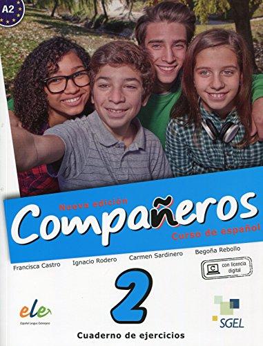 Compañeros 2 cuaderno de ejercicios. Nueva edición por Ignacio Rodero Díez