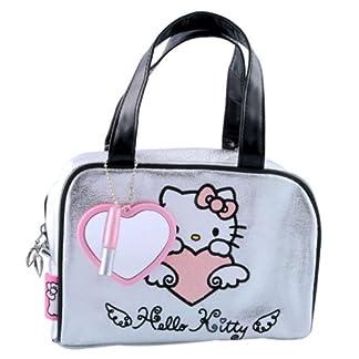 Hello Kitty–Bolsa de aseo y para maquillaje, diseño de 2piezas