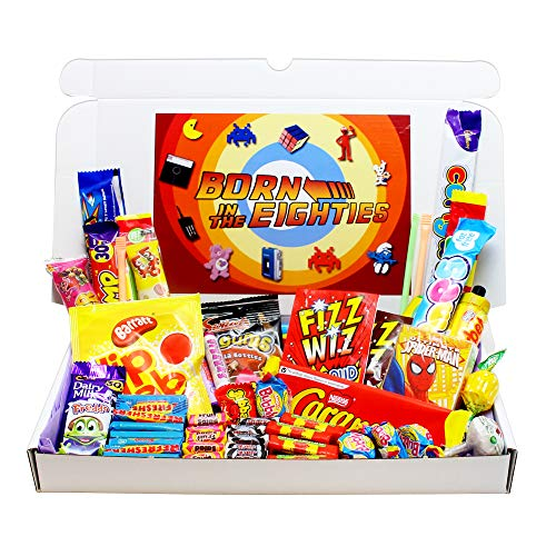 Born in The Eighties Retro Sweets Gift Selection Box