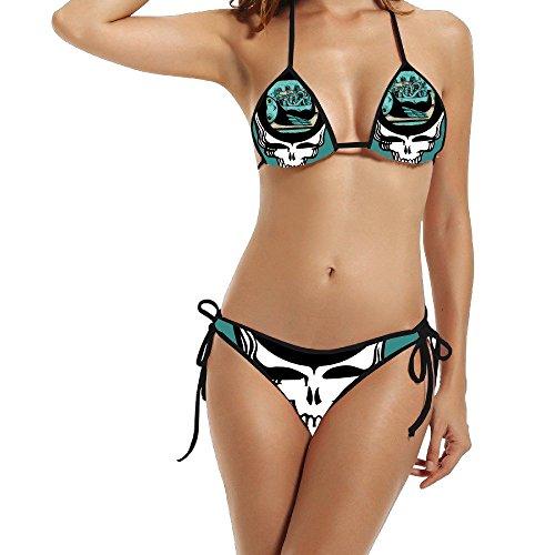 GG & mm mi mañana chaqueta Rock banda calavera Bikini