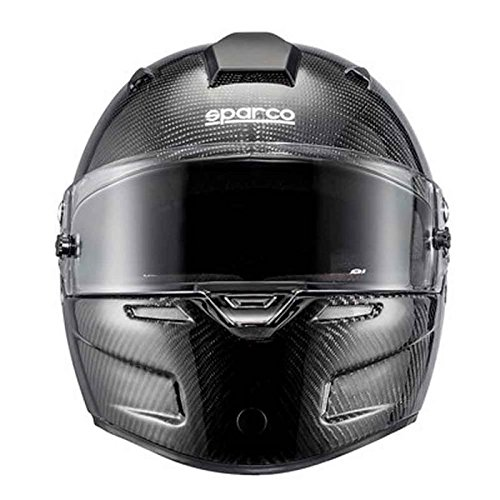 SPARCO S0033443ML Casque Rf-7W Carbone TG Sky Fig. ML Noir