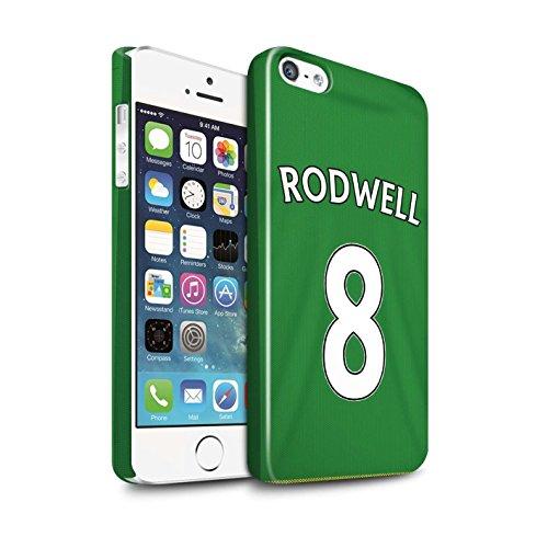 Offiziell Sunderland AFC Hülle / Glanz Snap-On Case für Apple iPhone 5/5S / Pack 24pcs Muster / SAFC Trikot Away 15/16 Kollektion Rodwell