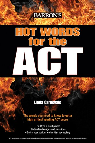 Hot Words for the ACT (English Edition) - Barron Act-test