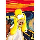 GB Eye Ltd FP1334 Maxi-Poster The Simpsons, Scream, 61 x 91,5 cm