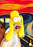 GB EYE LTD The Simpsons Poster Homer Simpson - The Scream