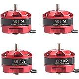 Brushless Motor, ADESHOP PCS BR1102 8000KV 1-3S Brushless Motor für Mikro-FPV Rennläufer
