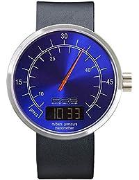 666-Barcelona 304 - Reloj , correa de piel de borrego color negro