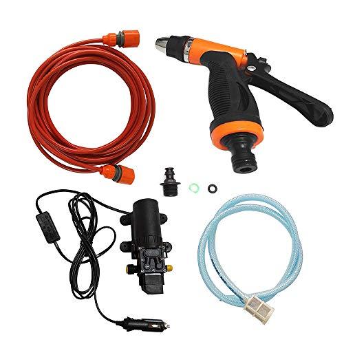 Leslaur 12V Autowäsche Waschmaschine Reinigung Elektropumpe Hochdruckreiniger Gerät Werkzeug -