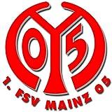 FSV Mainz 05 - Football Club Crest Logo Wall Poster Print -