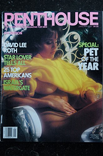 PENTHOUSE US 1987/01 Mindy Farrar Margo Chapman David Lee Roth Tammy Lane Death Row Patrick Carr