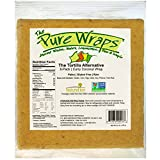 Coconut Wraps - Low Carbohydrate & Sugar - Gluten Free Bread/Tortilla Alternative - Healthy, Easy & Safe - 2 Packs Of 8 Count Curry