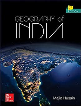 Geography of India by [Husain, Majid]
