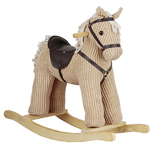 Heritage Deluxe Khaki Rocking Horse