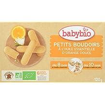 Babybio Petits Boudoirs à l'Huile Essentielle d'Orange Douce - BIO - 120 g