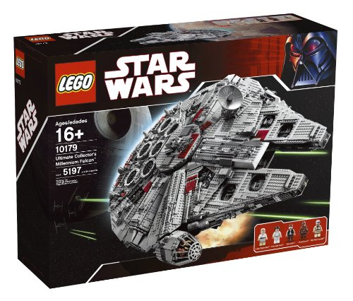 LEGO - 10179 - Jeu de Construction - Star Wars - Faucon Millenium