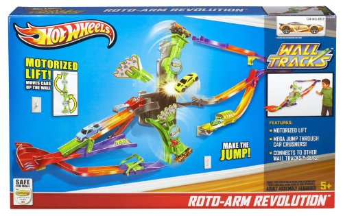 Hot Wheels Wall Tracks Roto-Arm Revolution (5 YEARS AND UP) by Hot Wheels